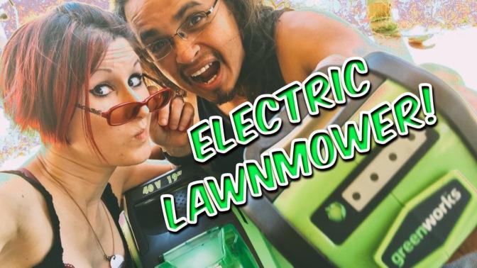 Sensory Friendly Lawn Mower – Greenworks Electric Lawn Mower Review